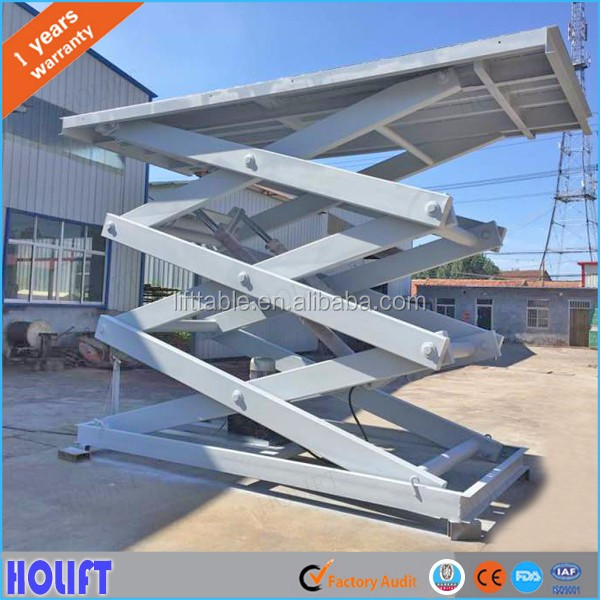 Manufacturer material handling equipment scissor lifts / fixed hydraulic electric cargo scissor lift prices