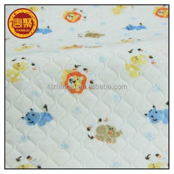 100 coton tissu imprim tissu matelass double face pour b b buy tissu matelass double face - Tissu matelasse pour bebe ...