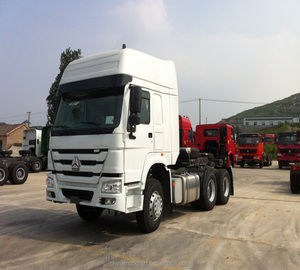 Hot Sale Sinotruk HOWO Left hand drive 6X4 HW19712, 10 F and 2 R, manual Tractor Truck
