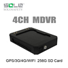 Factory Direct 4 Channel 3g car dvr with gps tracker