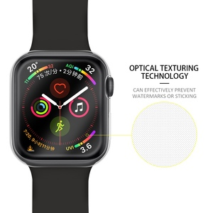 Good quality TPU 360 Full cover for Watch series 4 clear case, slim soft screen protector Case for Apple Watch S4