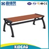 Wooden benches outdoor park chair long wpc garden bench