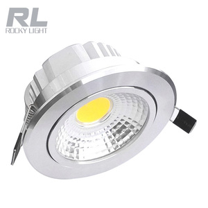 Aluminum residential rotatable cob led spot light