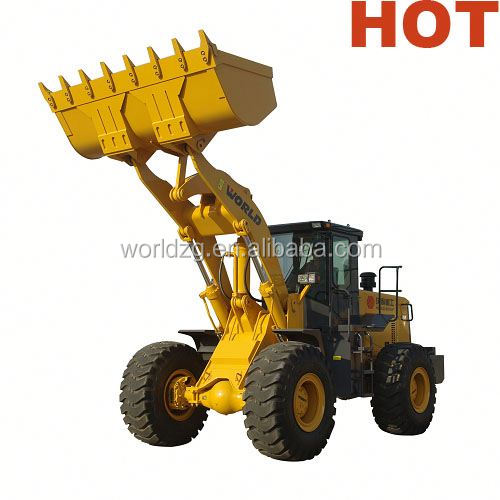 front loader with rock bucket W156 with rock bucket and joystick