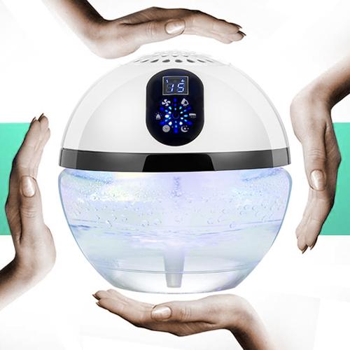Innovador 2017 productos de cuidado de ancianos iluminación LED agua aire  limpiador para el hogar