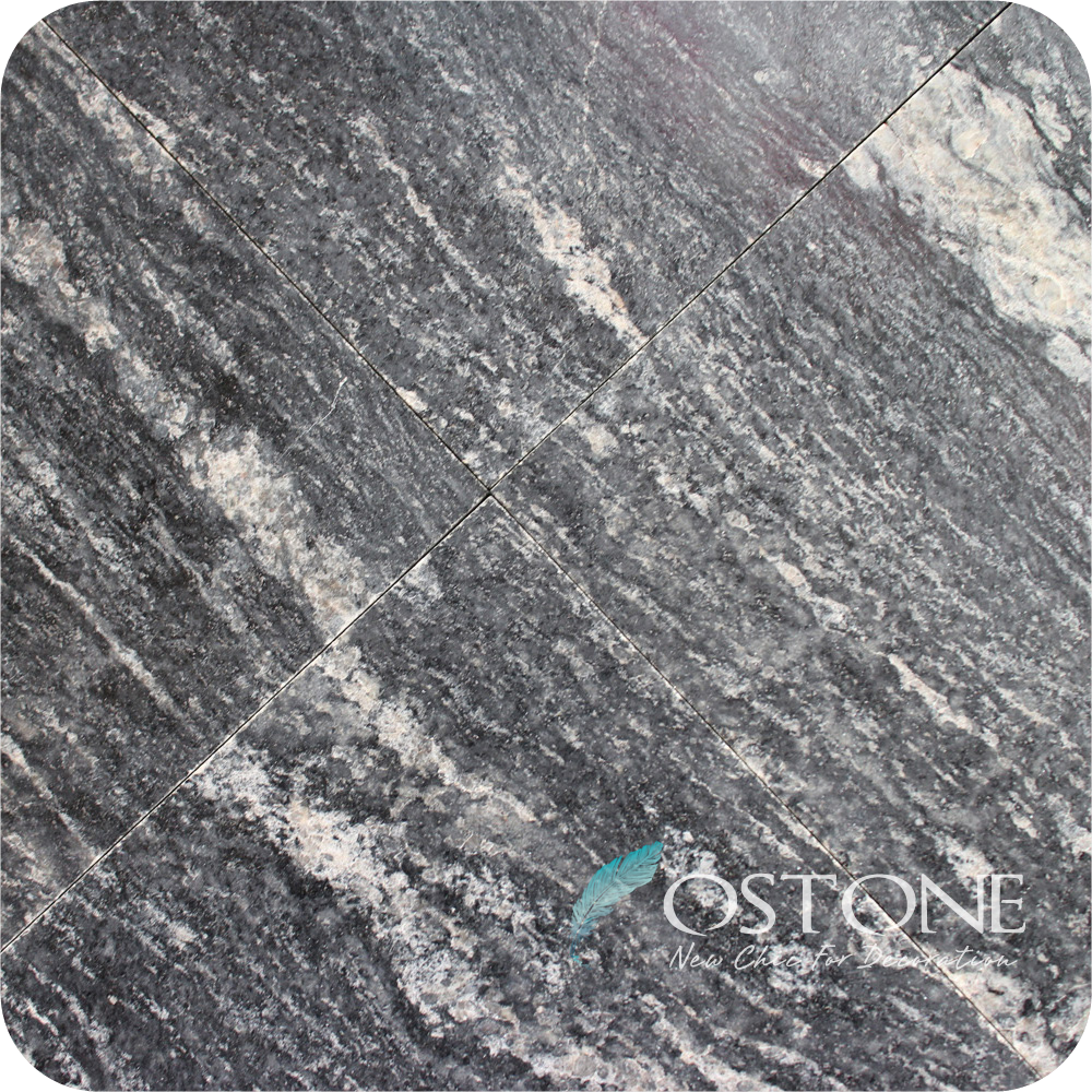 Great Quality Tiles And Slabs Black Ocean Granite For Project