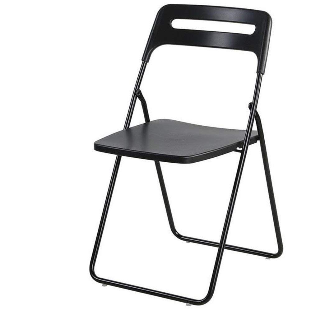 ARAYACY Nordic Simple Plastic Folding Chair Backrest Leisure Home Computer Chair Fashion Staff Chair,C