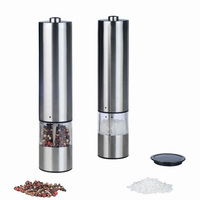 Factory top seller electric salt and pepper grinder set
