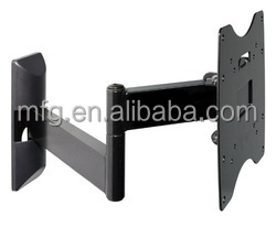 Economy aluminum slide in wall tv support