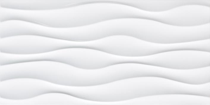 300x600 White Wavy Wall Ceramic Tile For Bathroom Buy