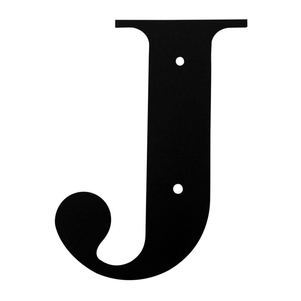 Get Quotations Wrought Iron House Letter J 12