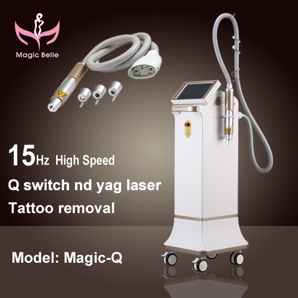 Korea technology Alexandrite laser Beauty machine Tattoo Removal Laser in china