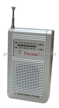 AM/FM mini radio with speaker