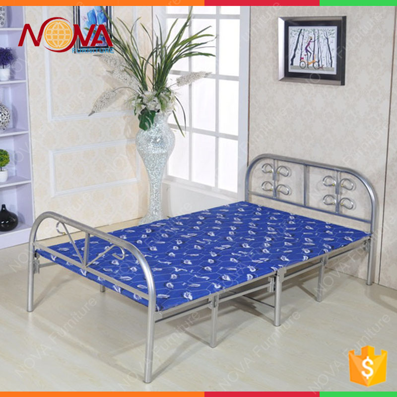 School single person use Bunk folding single bed