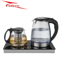 Electric Tea Coffee Kettle Set Tea Tray With Temperature Control set tea tray
