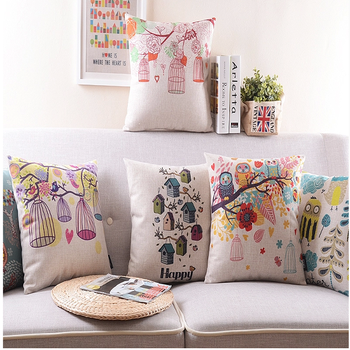 Bird And Flower Design Cushion Cover Hand Embroidery Buy Cushion Simple Pillow Cover Hand Embroidery Designs