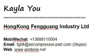 AC POWER industriële machine Stille Olie minder luchtcompressor schroef type