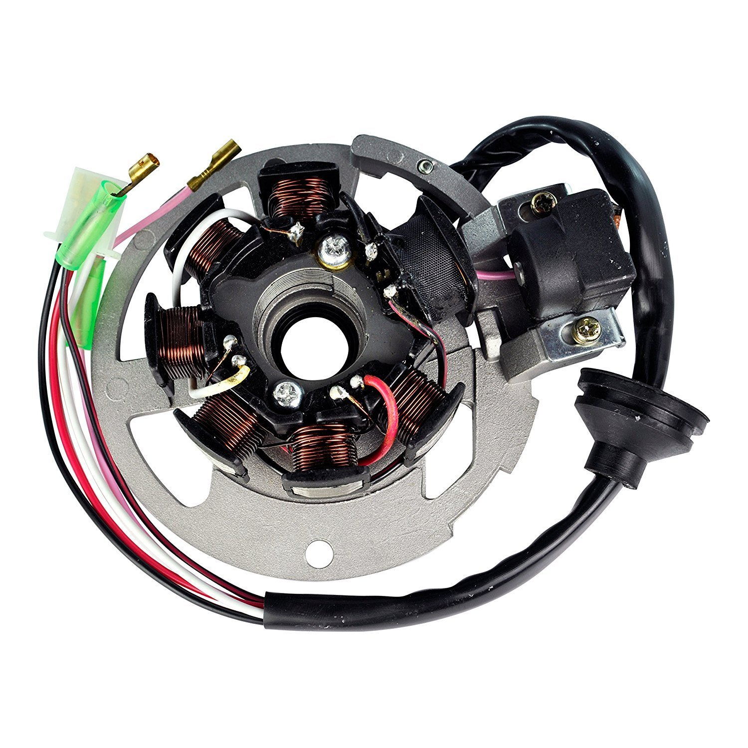 Get Quotations · Lumix GC Stator Magneto Alternator For DINLI 50CC 90CC  110CC Dino Helix Diamond Back Atv Quad