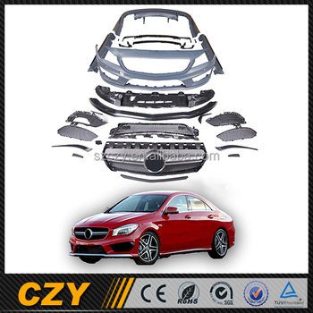 Cla45 Cla Class Tuning Car Racing Exhaust Tips Body Kit For Mercedes