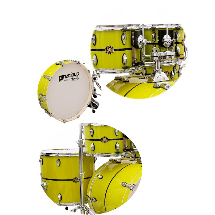 High quality professional performance percussion drum set