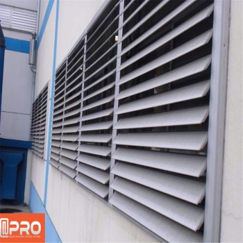 Multi track design building exterior louver window - Exterior louvered window shutters ...