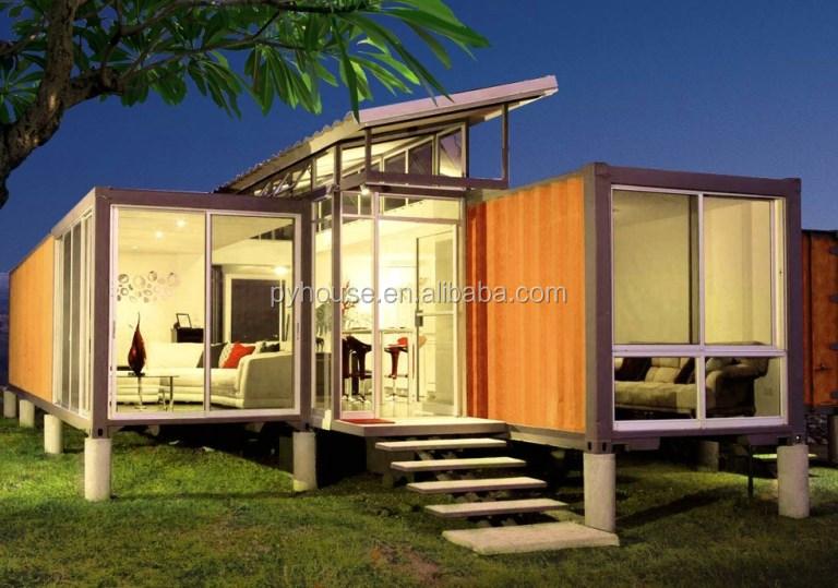2017 cina vendita calda casa progetta case container di cellulare di lusso prefabbricate case - Container homes costa rica ...