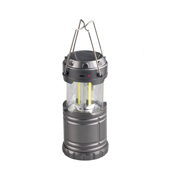18650 li-ion Battery Portable Outdoor Rechargeable Solar COB Led Camping Lantern