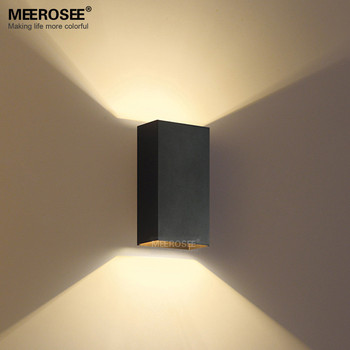 Black Led Wall Light For Hotel Bedroom