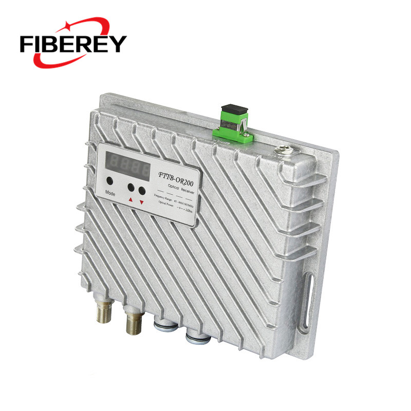High Quality Fiber to The Building FTTB CATV Fiber Optic Node with AGC Control