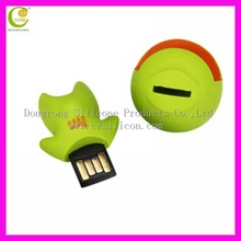 Cheap price OEM shape cartoon pvc usb,mini cartoon 4gb pvc usb sticks