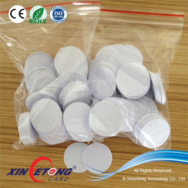 Best selling coin pvc  tag with custom logo printing