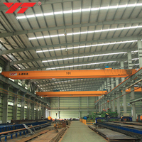 Low Cost High Performance Workshop Use double girder overhead crane price 5 ton 10 ton