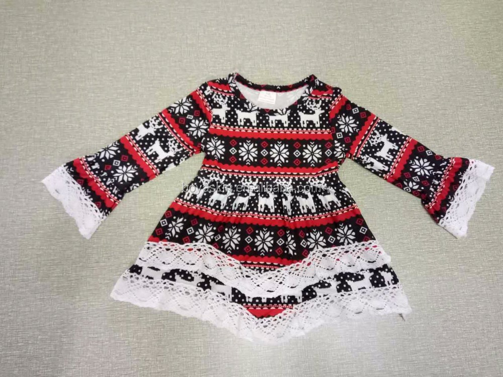 Baby Girls Red Christmas Dress wholesale