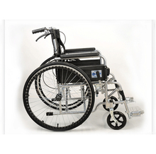 Cheap medical equipment folding electric lightweight wheelchair for sale