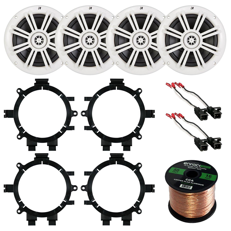 Buy Car Speaker Bundle Combo 2 Pairs Of Kicker 41km604w 65 Inch Wiring Harness Gauge 300 Watts