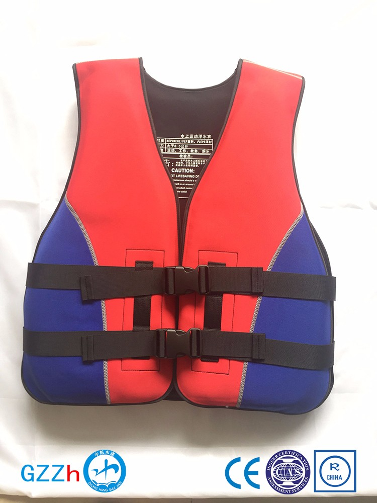 Personalized colorful inflatable life jackets with custom logo
