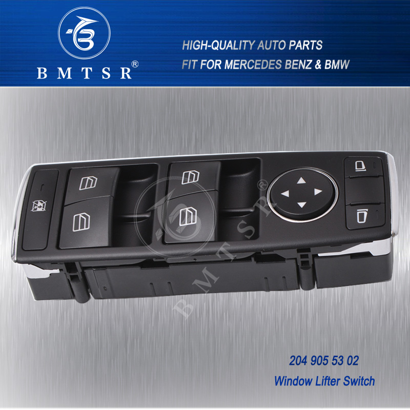BMTSR car w204 w212 window lifter switch
