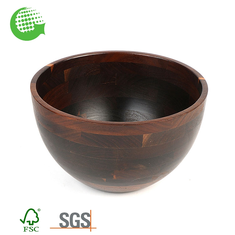 Mexico Hawaiian Coconut Antique African Handmade Wooden Dry Fruit Bowl For Sale