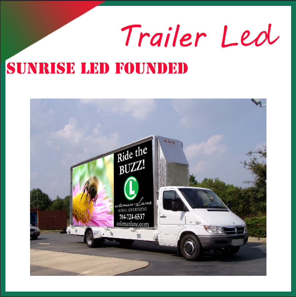 Sunrise DFAC 4X2 LED mobile truck advertising mobile billboard truck,advertising truck