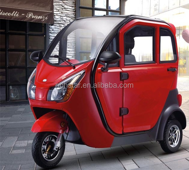 2017 new passenger electric tricycle/electric trike / 2 seat electric mobility