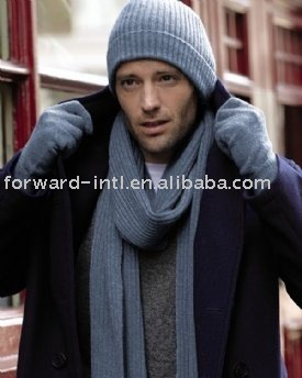 Men s Cashmere Hat And Gloves - Buy Hat 70f85bf12b2d
