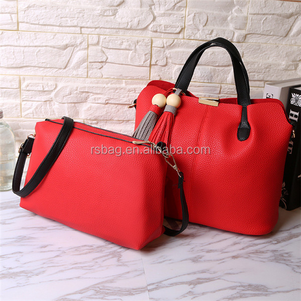 new fashion high quality popular styles synthetic leather ladies bags handbag
