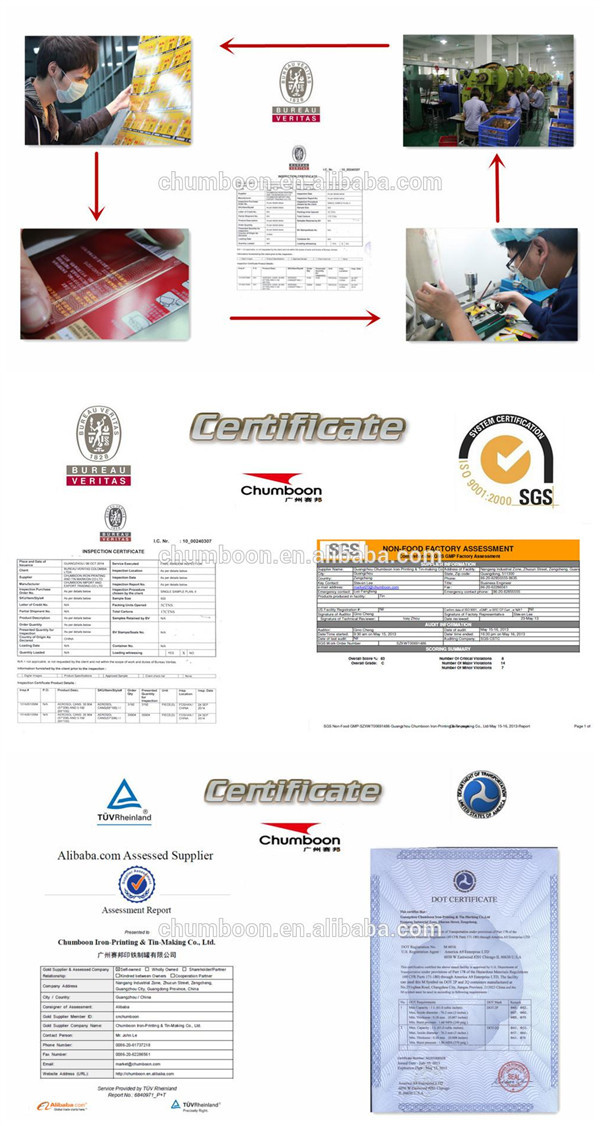 Oem Service Aerosol Metal Deodorant Spray Tin Can From China