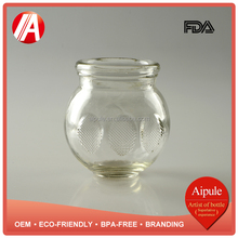 Chinese factory top quality traditional medicine embossed vacuum cupping glass with different size wholesale