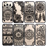 Cusomized Henna Paisley Palace Floral Flower Printing Mandala Soft TPU Cell Phone Case for iPhone 5/6/6 Plus
