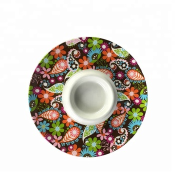 Factory Direct Wholesale Price Melamine Serving Trip and Dip Dishes
