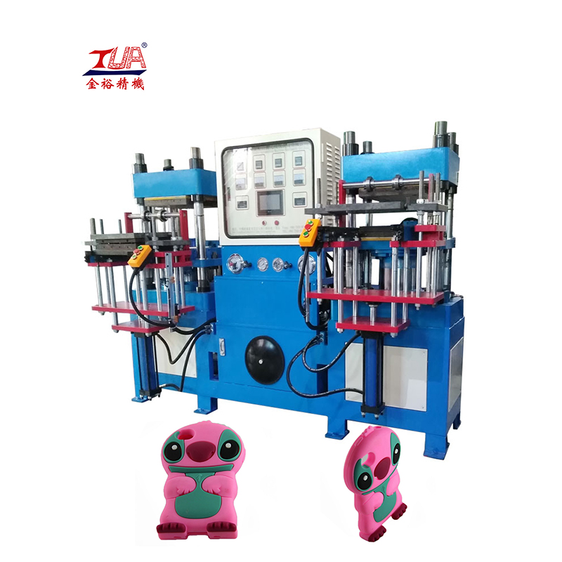 automatic rubber silicone logo heat press machine