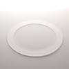 HM High Quality High Pressure Resistance Frosted Quartz Glass Flange