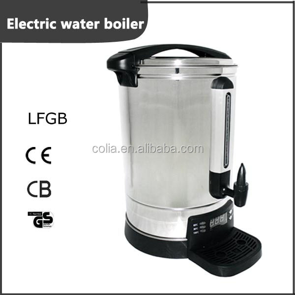 6.8L commercial single layer Digital electric drinking water boiler urn with single tap