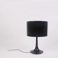 LP251 Spun american modern bedside brief table lamp home decorative table lamp Spun Table Lamp